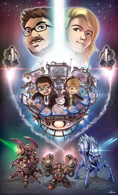 Awesome BaseTrade fan art #games #Starcraft #Starcraft2 #SC2 #gamingnews #blizzard
