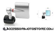 Specchietto naked Rizoma SPY Q cod.BS186