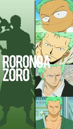Tbh Zoro is my second favorite character from One Piece the first is Luffy but I mean the whole crew is amazing they're very funny and serious at the same time.