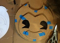 arts and crafts Progress on my DIY Bendy and the Ink Machine Costume — Steemit Do It Yourself Kitche Halloween Costumes For Kids, Fall Halloween, Halloween Decorations, Halloween Party, Halloween 2019, Diy Arts And Crafts, Cute Crafts, Diy Crafts For Kids, 6th Birthday Parties