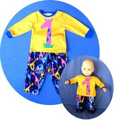 MATCHING American Girl Bitty Baby Doll Clothes by agirlandherdoll, $44.00