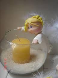 Resultado de imagen para angelitos en porcelana fria