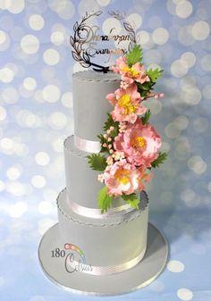 Dhinakaran wed Evangeline - cake by Joonie Tan
