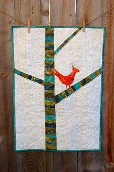 Batiki Bird Quilt