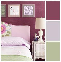 Modern Spring Palettes- ciruela