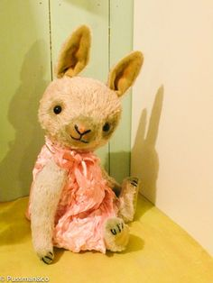 PDFEpattern  to make a bunny like Lucy by pussman on Etsy, $20.00