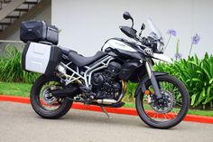 my new interest in Adventure riding, in the next few weeks I hope to own one of these Triumph Tiger 800xc or a BMW F800GS