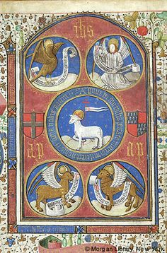 Book of Hours, MS G.55 fol. 14v - Images from Medieval and Renaissance Manuscripts - The Morgan Library & Museum