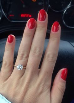 MY engagement ring from James Allen! Who needs 5 golden rings when you have 1 perfect one? ;)