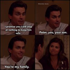 Neal and Elizabeth. White Collar Quotes