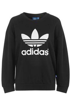 99d2e809b Fleece Crew Sweatshirt in 2019 | Products | Pink adidas sweatshirt ...