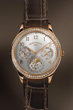 Why are ladies watches so strange looking? I would never buy this for anyone. Patek Philippe 7140R #Ladies First Perpetual Calendar