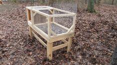 The Rabbit & The Roost Rabbit Hutch Design Rabbit Hutch Plans, Rabbit Hutches, Basement Storage Shelves, Design