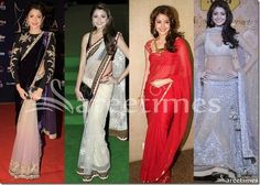 Anushka_Sharma_Collection_2014(2) Manish Malhotra Saree, Kareena Kapoor Saree, Lehenga Suit, Indian Bridal Sarees, Crepe Saree, Wedding Sari, Sari Blouse Designs, Saree Trends, Anushka Sharma
