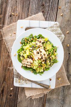 Pesto Cauliflower & Potato Salad + Salad Samurai Review & GIVEAWAY!  |  Keepin' It Kind