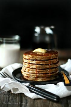 Oatmeal Cookie Pancakes.