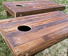 Reclaimed Wood Cornhole Game by ColoradoJoes on Etsy, $150.00