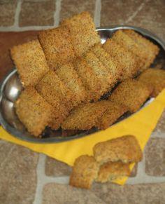 Tojásmentes -ropogós -sajtos- kekszHozzávalók: 35 db25 dkg manioka liszt