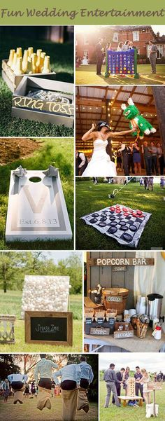 fun wedding entertaining activites for intimate and small weddings                                                                                                                                                      More