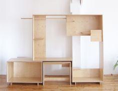look at WAKA WAKA — Positive Negative Shelf for Building Block