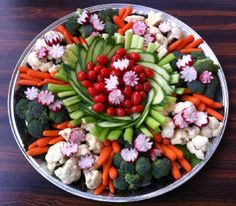 vegetable tray ideas