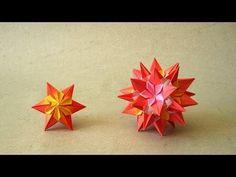 Sparaxis Star and Kusudama (Ekaterina Lukasheva): Instructions | Happy Folding