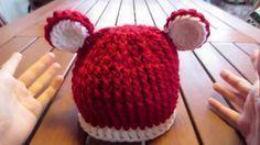 Video tutorial in italiano gratis: cappellino per bambini all'uncinetto; è possibile aumentare la grandezza aumentando i punti iniziali Crochet, Desserts, Tutorial, Hobby, Anna, Fashion, Caps Hats, Bebe, Loom Knit