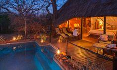 Stanley Safari Lodge Victoria Falls in Zambia.