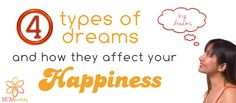 4 types of dreams to follow...
