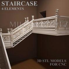 Check out 3D STL Model Chairs 8 Pcs Collection for CNC Router Artcam Cut3d Aspire