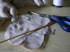 preparazione degli Orsetti Anima Shabby
