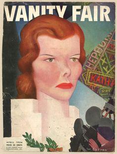 Vanity Fair, April 1934 - Katharine Hepburn