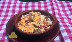 Receta de Duelos y quebrantos. Un plato con mucha historia.    https://www.kallejeo.com/comer-en-kallejeo/receta/duelos-y-quebrantos