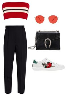 """""""Untitled #5292"""" by lilaclynn ❤ liked on Polyvore featuring Etienne Deroeux, Garrett Leight, Alexander McQueen, Gucci, AlexanderMcQueen and gucci"""