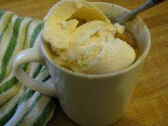 Happy Healthy Cooking: Peach Cobbler in a Mug
