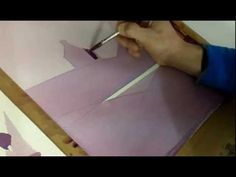 #Watercolor tutorial: How to lay a flat watercolour wash.