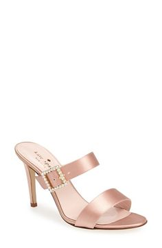 kate spade new york 'isi' satin sandal (Women) available at #Nordstrom
