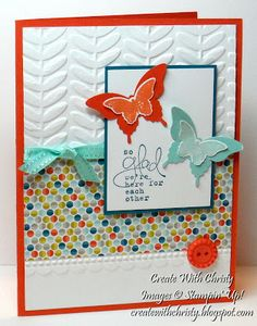 Stampin Up! Bloomin Marvelous Card, Christy Fulk, SU! Demo