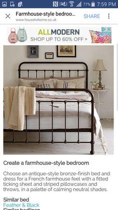 Straight Iron Bed post