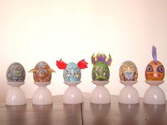 World of Warcraft eggs. Battle and breakfast!