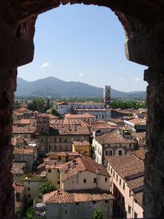 Beautiful Lucca Italy  Unlike many cities in Italy, the tourists do not overtake Lucca. She remains with her feet firmly planted in her own beautiful culture.
