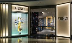 Introducing the new Fendi boutique window theme at Plaza66 in Shanghai featuring the Strap You accessory collection.