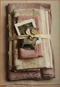 ~ 'Love Letters & Linen' ~
