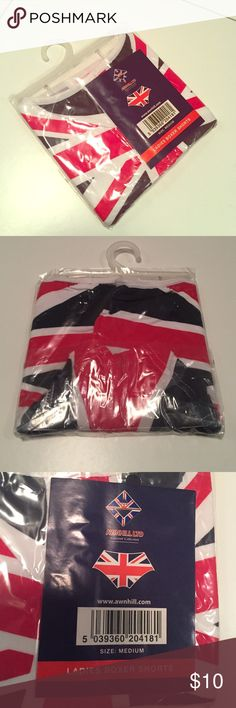 🇬🇧 Union Jack Panties! NWT In their original packaging. Bought as a souvenir on a trip to London. Intimates & Sleepwear Panties