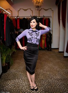 Strike a pose! Dita Von Teese is currently in Australia for her Strip Strip Hooray! burles...