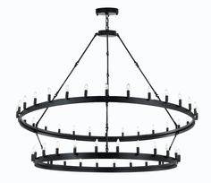 Wrought Iron Vintage Barn Metal Castile Two Tier Chandelier Chandeliers Industrial Loft Rustic Lighting. Add style and character to your home with the rustic chandelier. Decorate your home with this stylish illumination of the Castle chandelier. Industrial Chandelier, Rustic Industrial, Chandelier Lighting, Candle Chandelier, Square Chandelier, Rectangular Chandelier, Industrial Lighting, Interior Lighting, Luz Natural