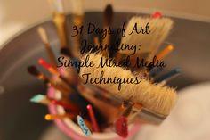 31 Days of Art Journaling~ Jenn Peterson 31 Days, Hand Lettering, Mixed Media, Art Journaling, Blog, Inspiration, Art Diary, Biblical Inspiration, Handwriting