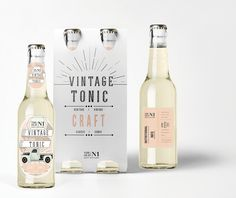 Craft Tonic Water Label design [Client Brief]. on Behance