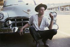 Paul Simonon, Philadelphia, 1982 / bob gruen