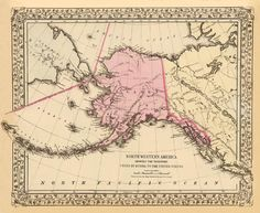 49 Best Alaska maps images